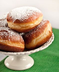 Polish Doughnut Recipe - Recipe in Polish use google translate