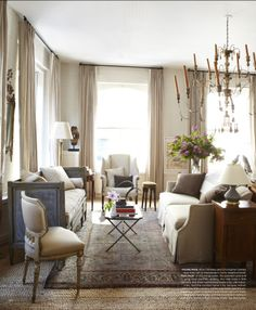 Courtnay Daniels Haden | Elle Decor March 2013
