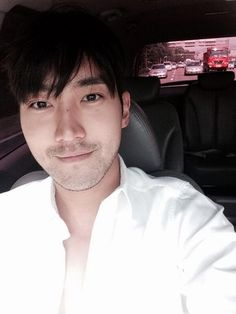 """""""I will attend to Busan International Motor Show 2014 on Let's have fun together"""" Choi Siwon, Donghae, Leeteuk, Heechul, Korean Boy Bands, South Korean Boy Band, Kpop, Elf, Super Junior Members"""