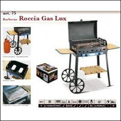Barbecue a gas gpl a pietra lavica roccia lux (griglia) - $327,00€ - SuQui Shopping by saturnostore
