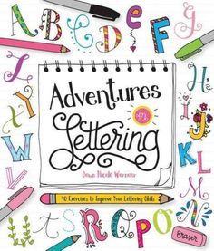 The ultimate hand-lettering workshop for young creatives! Taught by the popular and skilled hand-lettering artist Dawn Warnaar, Adventures in Lettering combines creative self-expression and beautiful