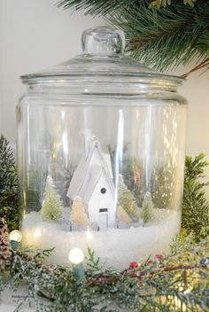 Christmas Jars - The Idea Room. I want to make this! @carissajoycamp