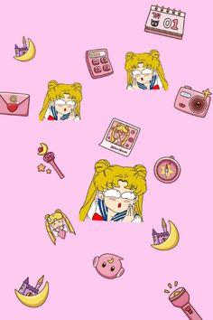 美少女 Sailor Moon Funny, Sailor Moon Art, Sailor Scouts, Sailor Moon Crystal, Cute Backgrounds, Cute Wallpapers, Sailor Moon Screencaps, Sailer Moon, Kawaii Tattoo
