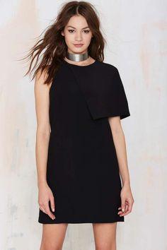 My Good Side Asymmetrical Dress