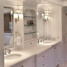 bathroom vanity with tower ideas | Tower Next To Vanity Design Ideas, Pictures, Remodel and Decor