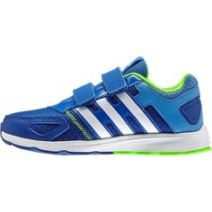 Adidas Running Kids Shoes AZ-Faito Velcro B23788 Blue Green Trainers  Training 1f8d08def