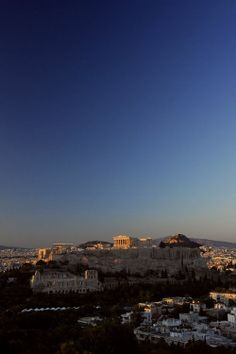 Greece - Athens - Acropolis Sunset