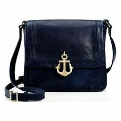 Leni Charm Convertible Leather Crossbody