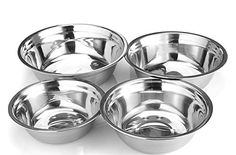 Stainless Steel Mixing Bowl (Set of 4) - Utopia Kitchen >>> Quickly view this special deal, click the image : Mixing bowls baking