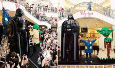Lego Master Builder breaks world record for largest Star Wars figures