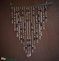 Sun Catchers, Boho Style, Upcycle, Chandelier, Ceiling Lights, Home Decor, Art, String Of Pearls, Art Background
