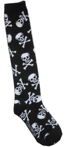 Knee High Skull Crossbones Socks (sadly, mine have holes in them now so need new ones!)