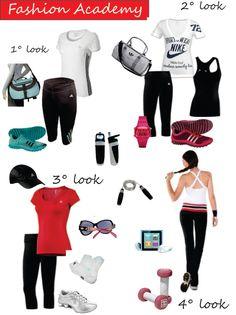 Looks e mais looks para você treinar e arrasar :D