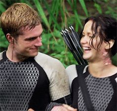 Joshifer <3 Catching Fire Behind The Scenes