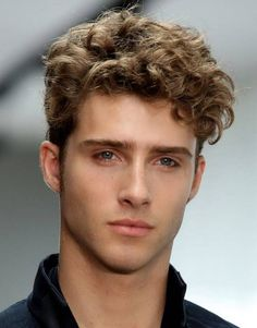 cool short curly hair styles for men - http://hairstylee.com/cool-short-curly-hair-styles-for-men/?Pinterest