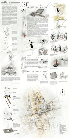 Rise of the Lost Site Analysis Architecture, Data Architecture, Architecture Portfolio, Landscape Architecture, Presentation Board Design, Architecture Presentation Board, Architectural Thesis, Planer Layout, Urban Planning