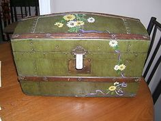 Salesman Sample Steamer Trunk c1880