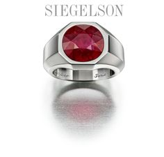 Siegelson offers a Ruby Ring by Carier