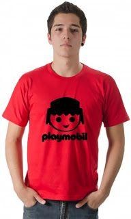 Camisetas da Hora - Camisetas Engraçadas, Estilosas e Inteligentes. Camiseta, Camisetas,: Camiseta Playmobil
