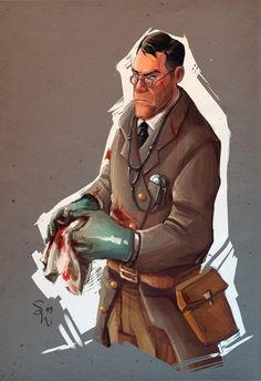 Concept Medic by ChemicalAlia on DeviantArt