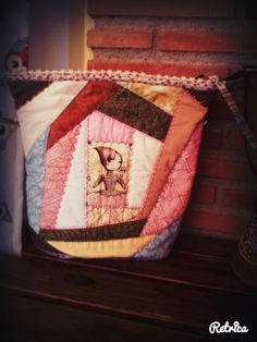 Bolso long cabin patchwork