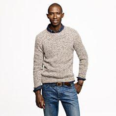 Wallace & Barnes Donegal wool sweater