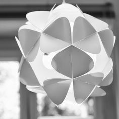 Orbital (White)  #light #design #shades #Kafti #desado.com