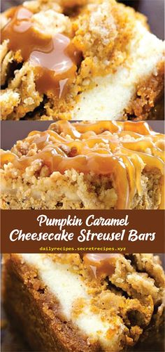 Savory magic cake with roasted peppers and tandoori - Clean Eating Snacks Pumpkin Cheesecake Bars, Caramel Cheesecake, Just Desserts, Delicious Desserts, Dessert Recipes, Fall Desserts, Yummy Food, Fall Baking, Pumpkin Dessert