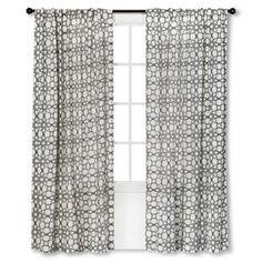 Threshold� Moroccan Tile Curtain Panel