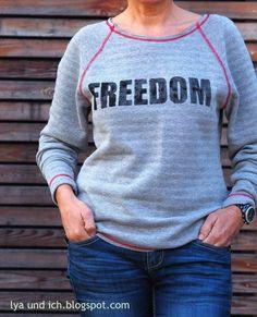 Nähanleitungen für einen kuscheligen Pullover / diy sewing instruction: comfy sweater by Elle Puls via DaWanda.com