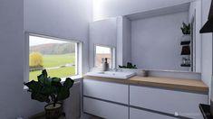 Koupelna - Inspirace | Modrastrecha.cz Double Vanity, Bathroom, Washroom, Full Bath, Bath, Bathrooms, Double Sink Vanity