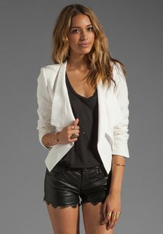 BCBGMAXAZRIA Jacket in Gardinia at Revolve Clothing - Free Shipping!