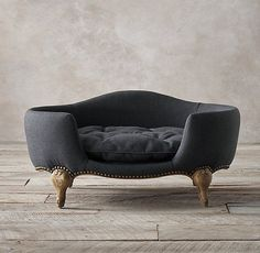 Beautiful bed for your pet royalty. Restoration Hardware - Antoinette Pet Bed www.crowleyfurniture.com