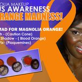 Faith Haller on Staree  It's Lupus Awareness Month!!! How are you rocking your Orange??? I'm going mad crazy for Magnolia Makeup Orange!