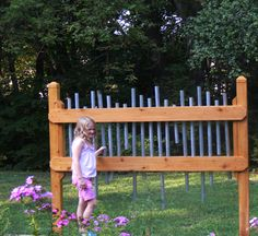 outdoor instrument - musical fence