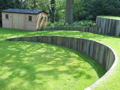 Lawn levels - would be great for an outdoor cinema too!