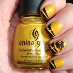 Pittsburgh Steelers by botanicnails #nail #nails #nailart   SPORTS ...