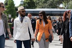 The Best Street Style from Pitti Uomo Spring 2017, Day 2 - -Wmag. June 2016.