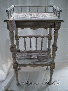 Romantic Shabby Chic Furniture Redo