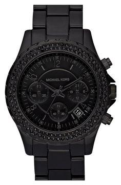 Michael Kors 'Madison' Resin & Crystal Watch | Nordstrom
