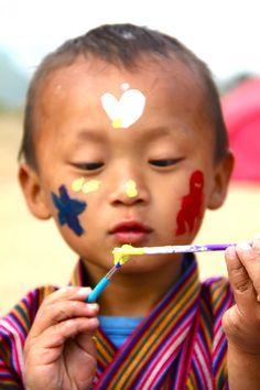 Baby Chumi. Bhutan 2011.