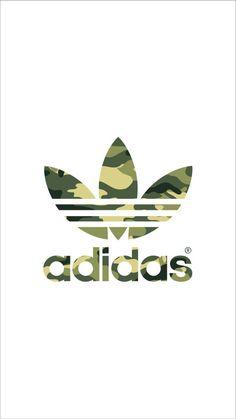 adidas logo blackwhite adidas pinterest iphone