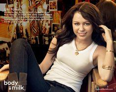 Got Milk Ads, Milk Magazine, Hannah Montana, Keep Fit, Celebs, Celebrities, Live Tv, American Singers, Miley Cyrus