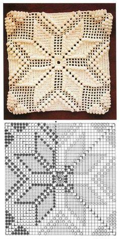 Transcendent Crochet a Solid Granny Square Ideas. Inconceivable Crochet a Solid Granny Square Ideas. Motifs Granny Square, Granny Square Crochet Pattern, Crochet Diagram, Crochet Squares, Crochet Motif, Crochet Designs, Crochet Doilies, Crochet Stitch, Crochet Granny