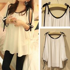 2013 New arrive Chiffon blouses embroidery tops sexy shirts for women Plus size summer batwing ruffled the hollow