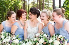 The beautiful bridal party. #bestdayever61816