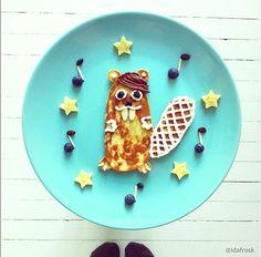 12 Adorable Plates of Food Shaped Like Animals By Ida Skivenes