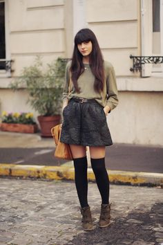 LOVE this skirt! (and the socks too but I can't pull that off! lol)