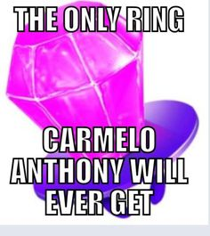 A ring pop lmfao - Knicks Melo Funny Nba Memes, Funny Basketball Memes, Football Memes, Basketball Motivation, Basketball Tips, Marching Band Memes, Nba Pictures, Boston Celtics, Nba Players