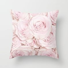 Roses have thorns throw pillow.  By UtArt